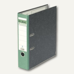 Elba Ordner rado-Standard DIN A4, 80mm, grün, 100022601
