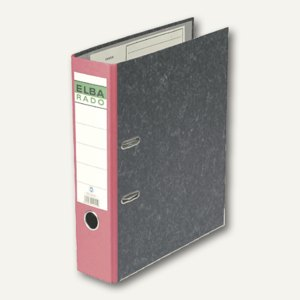 Elba Ordner rado-Standard DIN A4, 80 mm, rot, 100555313