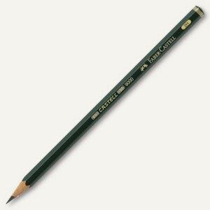 Faber-Castell Bleistift 9000, Härte: 2H, 119012