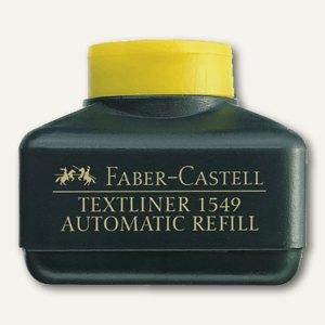 Faber-Castell Nachfülltank für Textliner 48, leuchtgelb, 154907