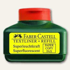 Faber-Castell Nachfülltank für Textliner 48, leuchtrot, 154921
