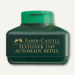 Faber-Castell Nachfülltank für Textliner 48, leuchtgrün, 154963
