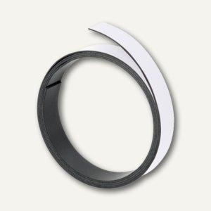Franken Magnetband, Breite 10 mm, Länge 1 m, weiß, M802 09