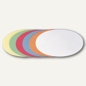 Moderatorenkarten oval