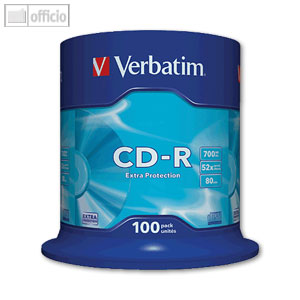 CD-R Rohlinge Extra Protection