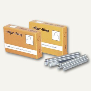 Regur Heftklammern für Handtacker R-19, R-37/6, 5000er Pack, R-37/6 mm