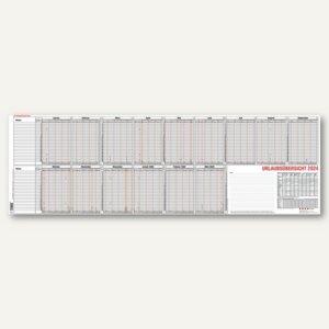 Güss Urlaubsübersicht für 25 Mitarbeiter, 15 Monate, 97.4 x 35 cm, 12-55