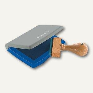 Pelikan Stempelkissen Gr. 3, 5 x 7 cm im Kunststoff-Gehäuse, blau, 337741