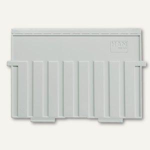 HAN Stützplatten DIN A5 quer, grau, 9025-11