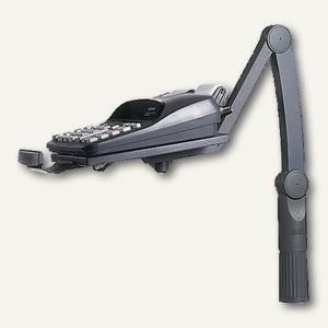 Hansa Telefonschwenkarm TSA5020, bis 3kg, höhenverstellbar, schwarz, 5020 004