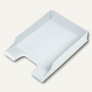 Helit Briefkorb, für DIN A4 bis DIN C4, lichtgrau, 6 Stück, H61015.82