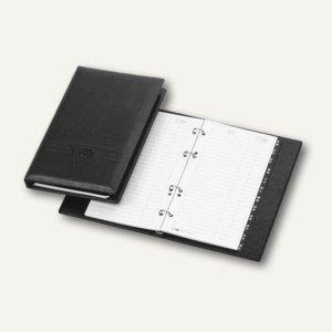 """Veloflex Telefonringbuch """"Exquisit"""", 145 x 225 mm, 4-Rund-Ringe, schwarz,4150780"""