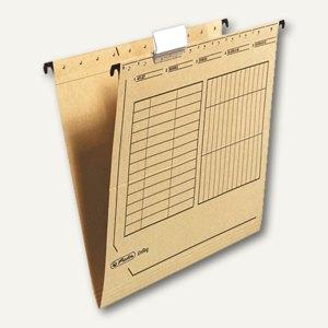 Herlitz Hängemappe UniReg für DIN A4, chamois, 25 Stück, 10843357