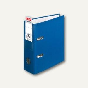 Herlitz PP-Ordner maX.file protect DIN A5 hoch, Breite 75 mm, blau, 10842326