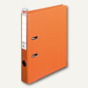 Herlitz Ordner maX.file protect plus, Kantenschutz, 50 mm, orange, 10834869