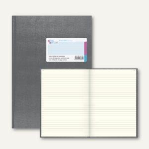Geschäftsbuch Deckenband DIN A4, 144 Blatt mit Seitenzahlen, liniert, 8614123