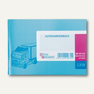 Artikelbild: LKW - Fahrtenbuch DIN A6 quer
