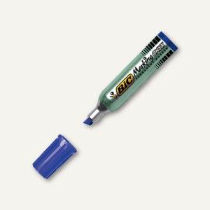 BIC Permanentmarker Onyx 1481, Keilspitze 3.5-5.5 mm, Metallschaft, blau, 841812
