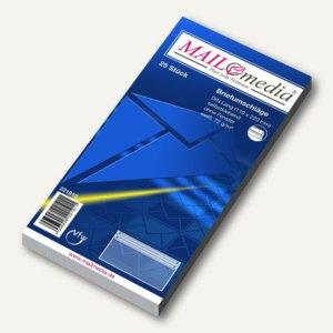 MAILmedia Briefhüllen DIN Lang, selbstklebend, 72g/m², 25 Stück, 221910