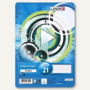 Artikelbild: Ringbucheinlagen DIN A5 liniert 50 Blatt
