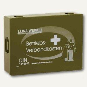 "Leina Betriebsverbandkasten ""Groß"" aus Stahlblech, grün, 20020"
