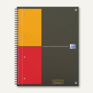 Spiralcollegeblock Notebook International DIN A4+