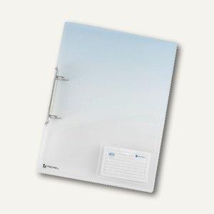 Rexel Ringbuch ICE Classic, 2 Ringe Ø 25 mm, PP, klar transparent, 2102045
