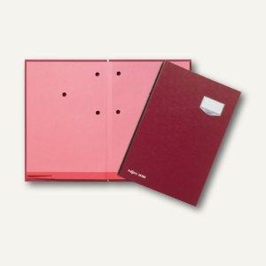 Pagna Unterschriftsmappe DE LUXE, 20 Fächer, Kunststoffeinband, rot, 24202-01