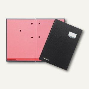 Pagna Unterschriftsmappe DE LUXE, 20 Fächer, Kunststoffeinband, schwarz,24202-04