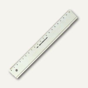Rumold Kunststoff-Lineal, 20 cm, transparent, FL 420/20