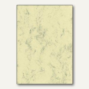 Sigel Designpapier Marmor, DIN A4, 90 g/m², beige, 100 Blatt, DP372