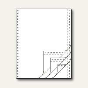 Tabellierpapier DIN A4 hoch