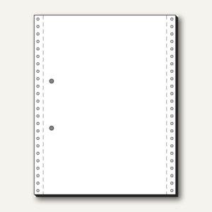 Tabellierpapier DIN A4 hoch, 305x240mm, 1-fach, blanko, 70g, 2.000Bl., 12237