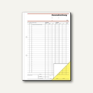 Formular Kassenabrechnung A4