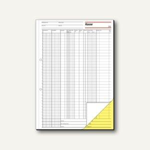 Sigel EDV-Kassenbuch DIN A4, hoch, 2 x 50 Blatt, KG429