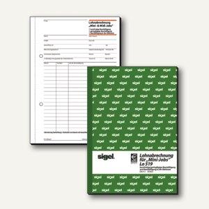 Artikelbild: Formular Lohnabrechnung Aushilfskräfte