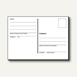 Postkartenheft DIN A6 quer