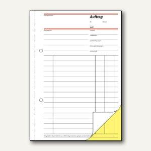 Formular Auftrag DIN A5