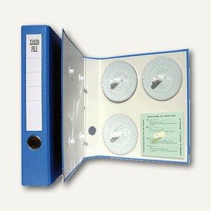 RNK Kunststoffordner für Tachoscheiben, DIN A4, blau, 3106