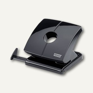 Novus Locher B225, bis 25 Blatt, Metall, schwarz, 025-0290
