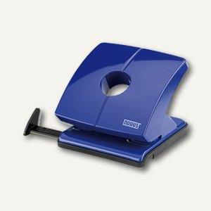 Novus Locher B225, bis 25 Blatt, Metall, blau, 025-0295