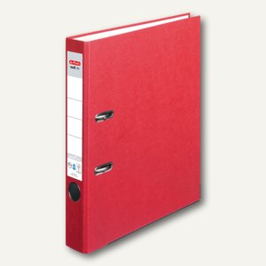 Herlitz Ordner maX.file nature plus DIN A4, 50 mm, rot, 10841641