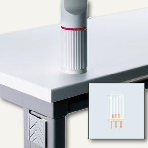 Novus Aufschraubplatte Telefonträger, Kunststoff, lichtgrau, 795+1502+000