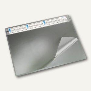"""Schreibunterlage """"Durella soft"""" - 50 x 65 cm, 3-Jahreskalender, grau, 47653"""