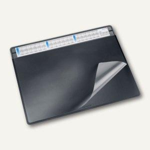 """Schreibunterlage """"Durella soft"""" - 50 x 65 cm, 3-Jahreskalender, schwarz, 47656"""