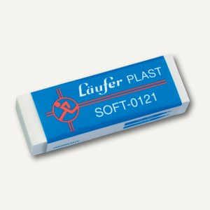 Läufer Radiergummi Plast Soft 121, 65 x 21 x 12 mm, 0121