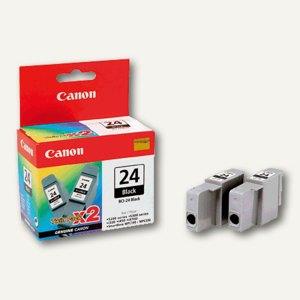 Canon Tintentank S300, schwarz, BCI-24BK, 2 Stück, 6881A009