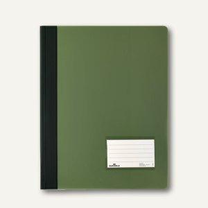 Durable Schnellhefter DURALUX A4+ 2680, transluzent-grün, 2680-05