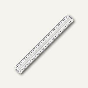 Rotring Lineal 30 cm mit Griffleiste transparent, R823141