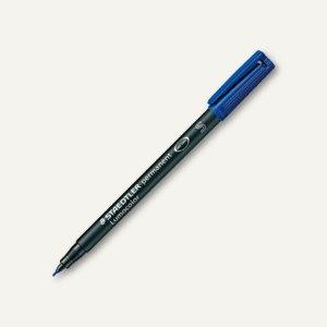 Staedtler Lumocolor Universalstift permanent 313 S, 0.4 mm, blau, 313-3